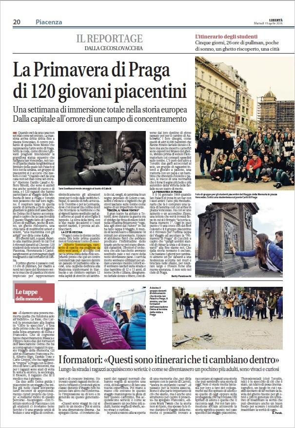 Tele Libertà Piacenza Aprile 2016 - 1/2